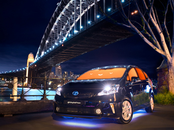 Toyota Prius photos for VIVID Festival